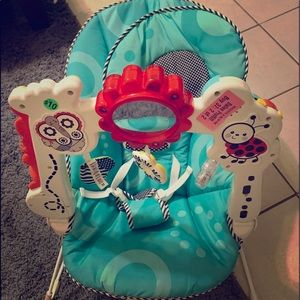 Baby bouncer and bath tub